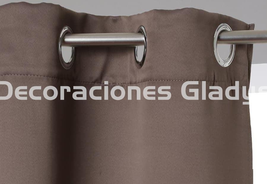 PACK 2 CORTINAS BLACL OUT OPACA - Imagen 2