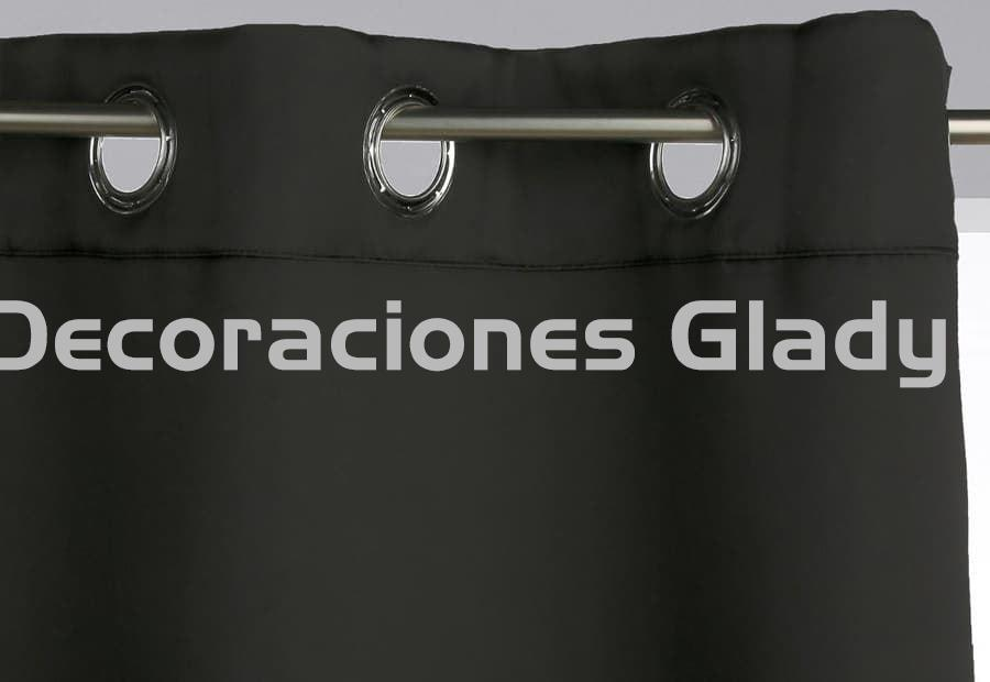 PACK 2 CORTINAS BLACL OUT OPACA - Imagen 3